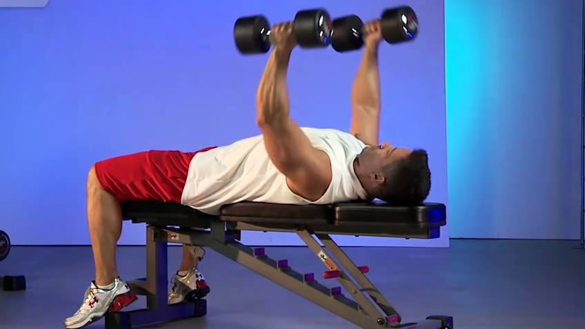 XMark Adjustable XM 7630 Bench Workout