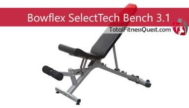 Bowflex SelectTech Bench 3.1 Review