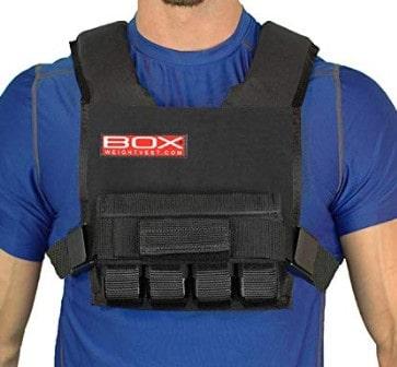 box super short weighted vest