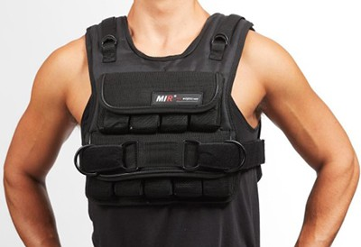 mir short weighted vest