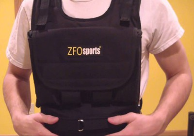 zfo sports weight vest